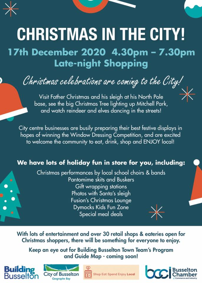 Building Busselton - Christmas in the City 17Dec20